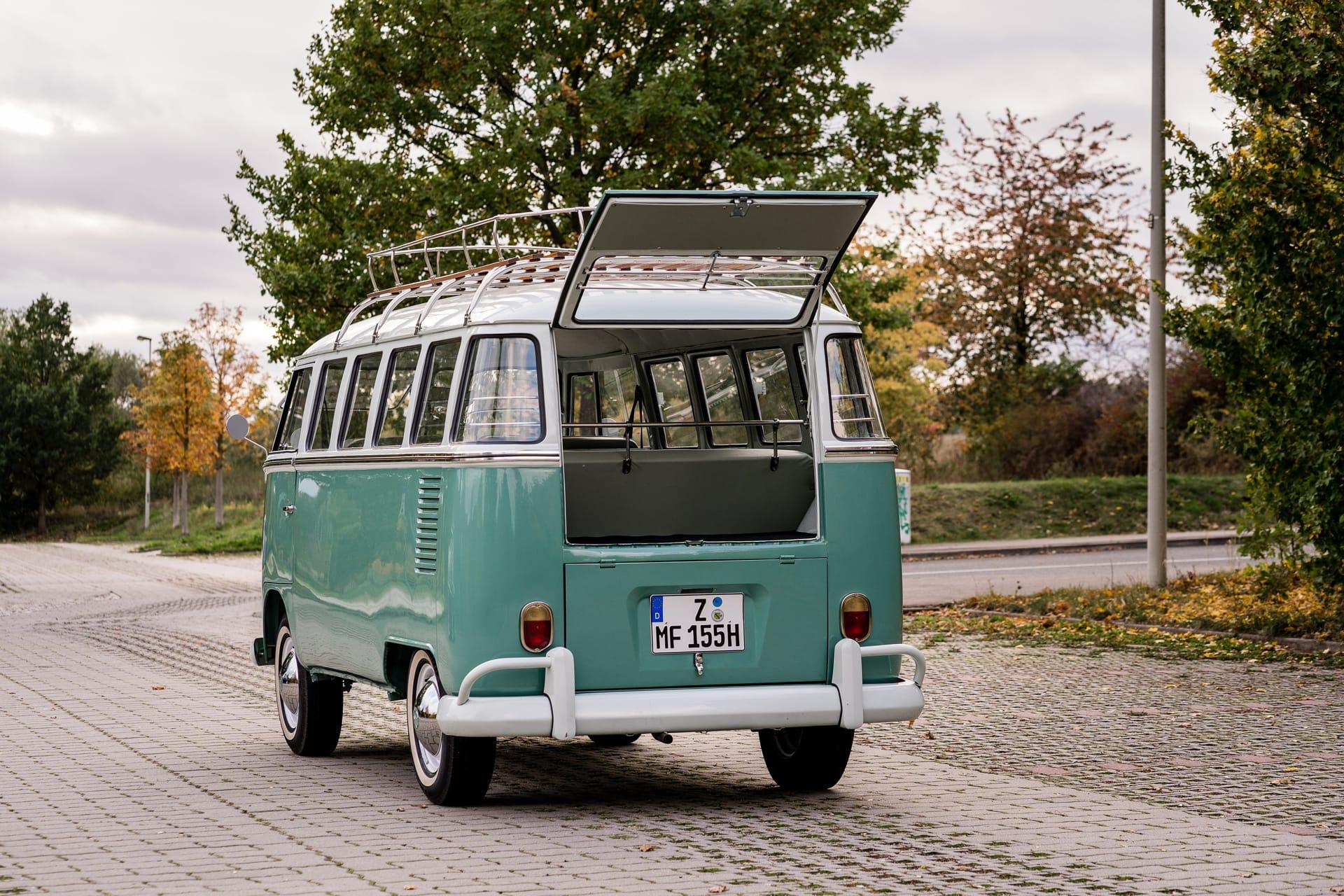 Eventauto Shuttle VW Bus T1 Hochzeit Geburtstag