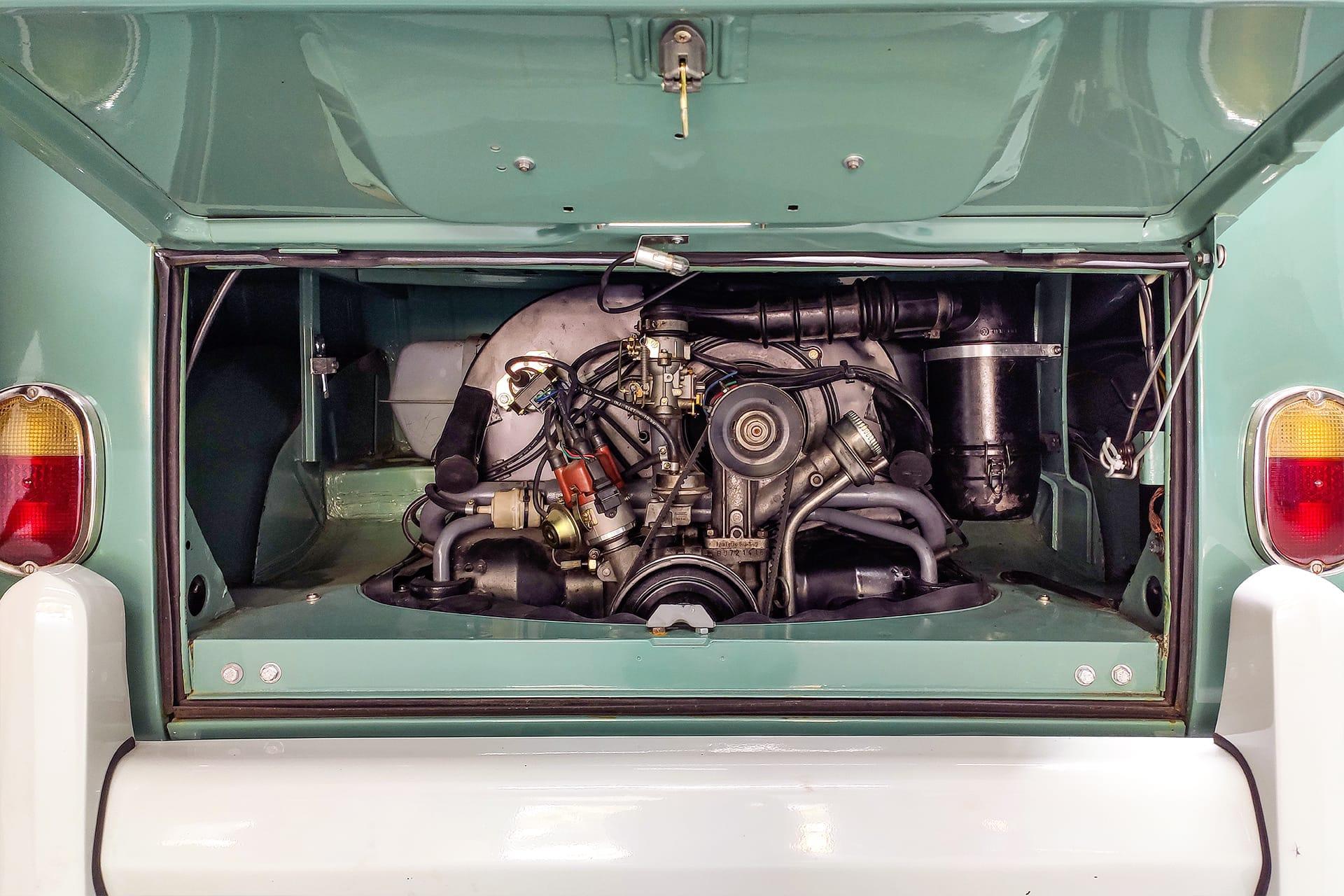 VW Bulli Luftgekühlt 4 Zylinder Boxermotor Oldtimer Käfer