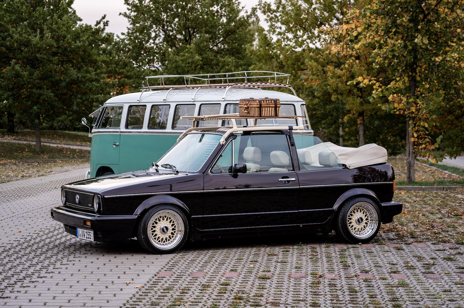VW T1 Bulli Dachgepäckträger Safarifenster mintgrün Weißwandreifen